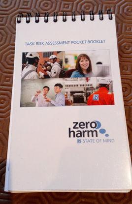 Picture of Surveyors Task Risk Assessment Pocket Booklet (sold in packs of 10)