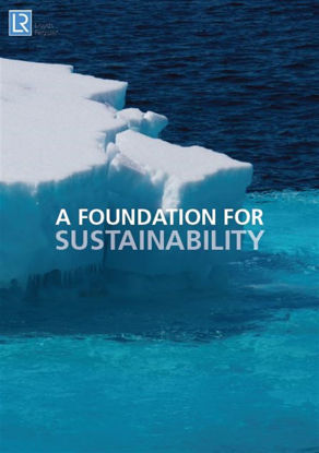 Picture of LR sustainability brochure