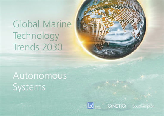 Picture of Global Marine Technology Trends 2030 - Autonomous Systems
