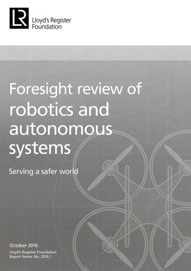 Picture of Foresight review of robotics and autonomous systems