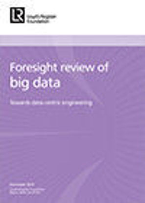 Picture of Foresight review of big data