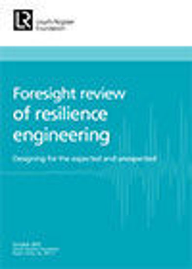 Picture of Foresight review of resilience engineering