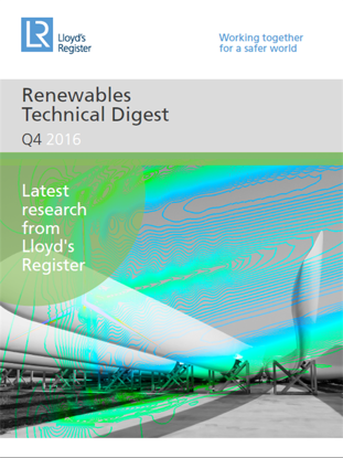 Picture of Renewables Technical Digest (Issue 1)