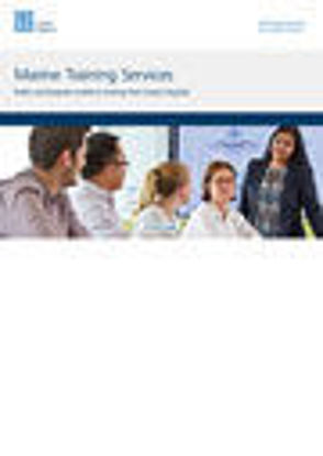 Picture of Marine Training Services Brochure