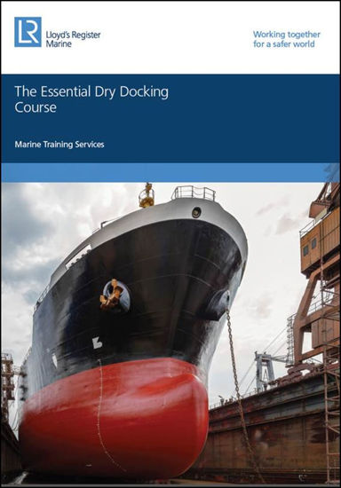 Picture of Essential Dry Docking course book - printed copy 2015