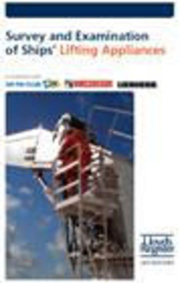 Picture of Pocket Guide No.2: Survey and Examination of Ships' Lifting Appliances