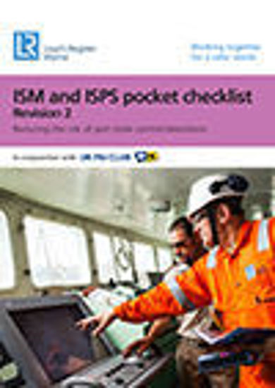 Picture of ISM & ISPS Pocket Checklist (Revision 4)