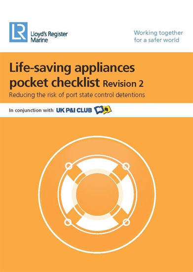 Picture of Life-Saving Appliances Pocket Checklist (Revision 3) - PDF Download