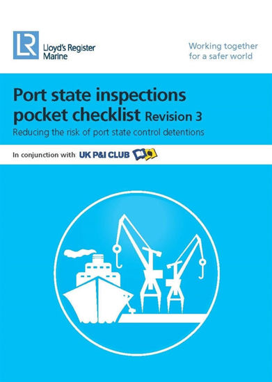 Picture of Port State Inspections Pocket Checklist (Revision 4) - Printed Copy